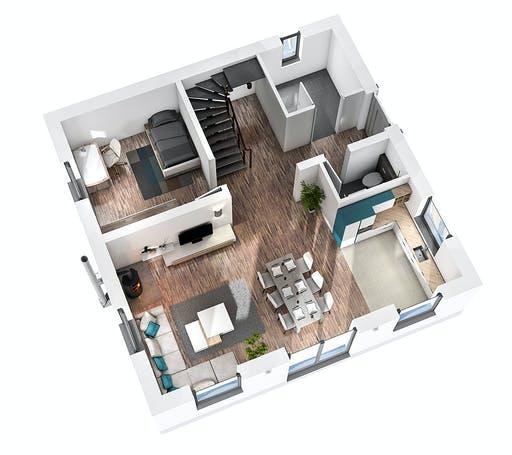 SR System - Bauhaus BHS 122 Floorplan 3