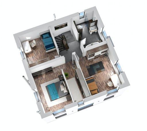 SR System - Bauhaus BHS 122 Floorplan 4
