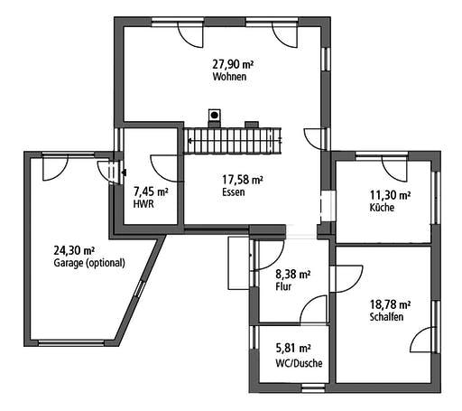 SR System - Bauhaus BHS 146 Floorplan 1