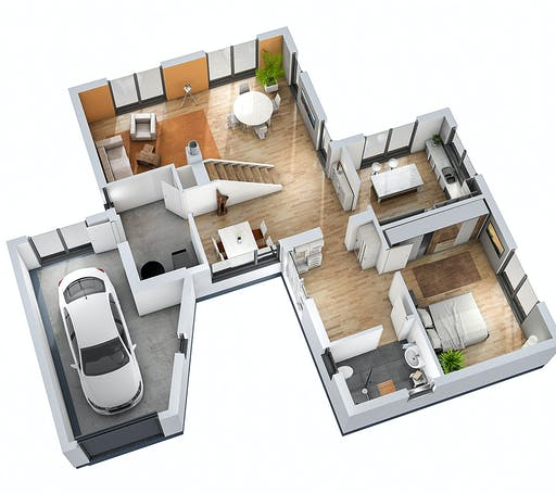 SR System - Bauhaus BHS 146 Floorplan 3
