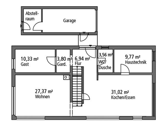 SR System - Bauhaus BHS 182 Floorplan 1