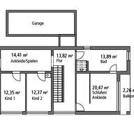 Bauhaus BHS 182 Grundriss