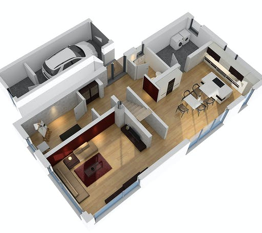 SR System - Bauhaus BHS 182 Floorplan 3