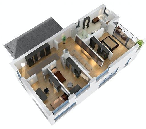 SR System - Bauhaus BHS 182 Floorplan 4