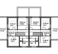 Doppelhaus DHH 119 Grundriss