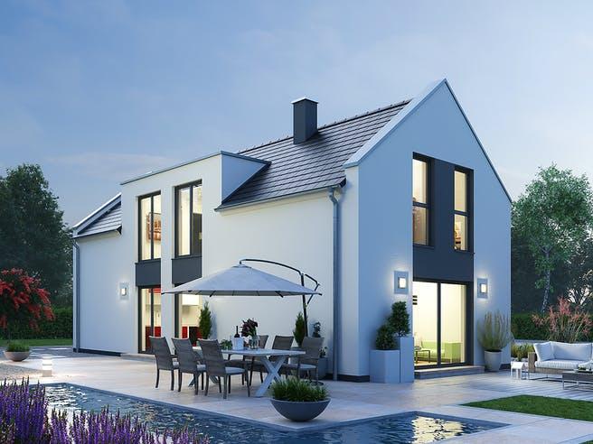 Einfamilienhaus EFH 122 von SR System Außenansicht 1