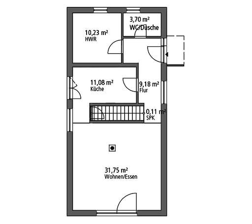 SR System - Einfamilienhaus EFH 122 Floorplan 1