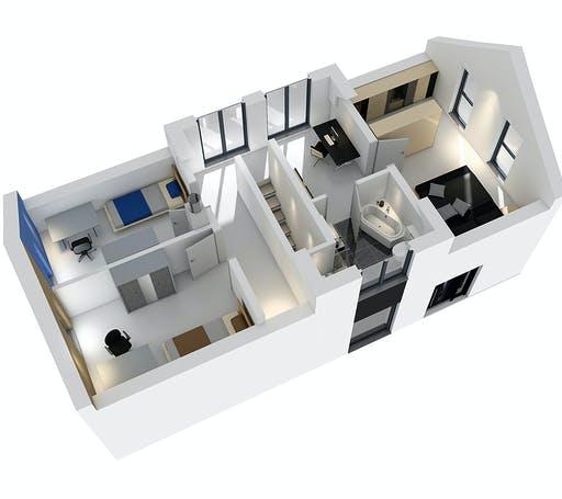 SR System - Einfamilienhaus EFH 122 Floorplan 4