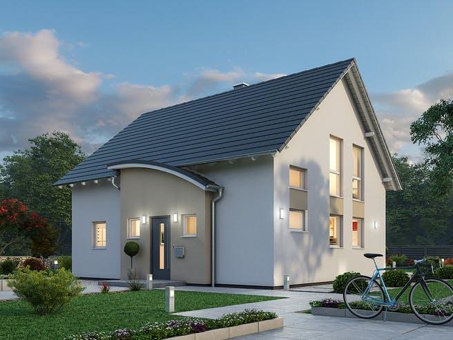 Einfamilienhaus EFH 124 von SR System Außenansicht 1