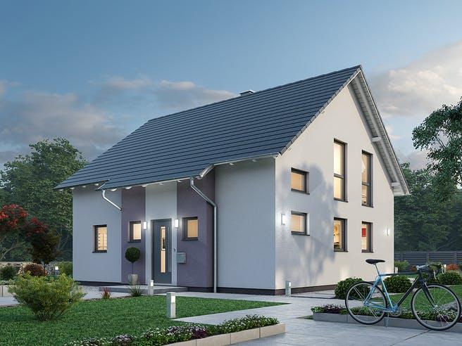 Einfamilienhaus EFH 136 von SR System Außenansicht 1