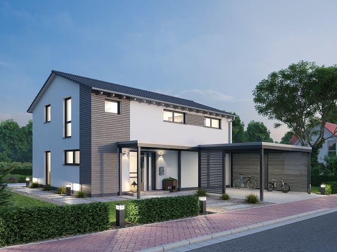 Einfamilienhaus EFH 139 von SR System Außenansicht 1