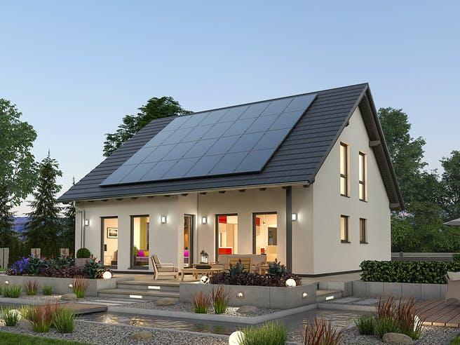 Einfamilienhaus EFH 142 von SR System Außenansicht 1