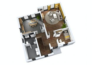 Einfamilienhaus EFH 142 Grundriss