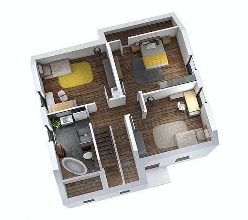SR System - Einfamilienhaus EFH 142 Floorplan 2
