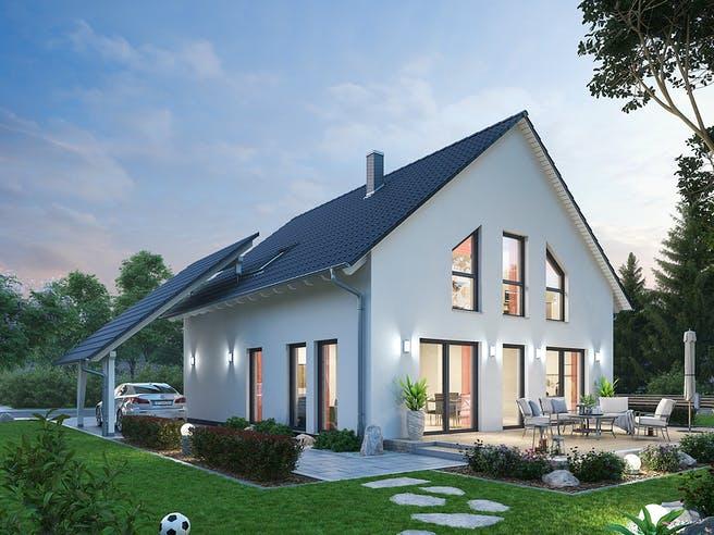 Einfamilienhaus EFH 143 von SR System Außenansicht 1