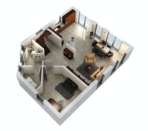 SR System - Einfamilienhaus EFH 143 Floorplan 3