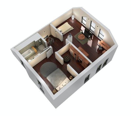 SR System - Einfamilienhaus EFH 143 Floorplan 4