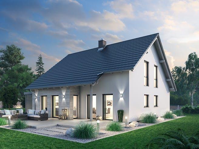 Einfamilienhaus EFH 144 von SR System Außenansicht 1