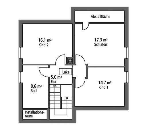 SR System - Einfamilienhaus EFH 144 Floorplan 2