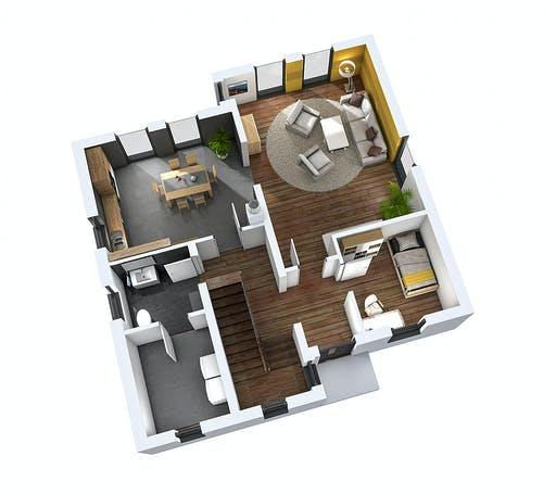 SR System - Einfamilienhaus EFH 144 Floorplan 3