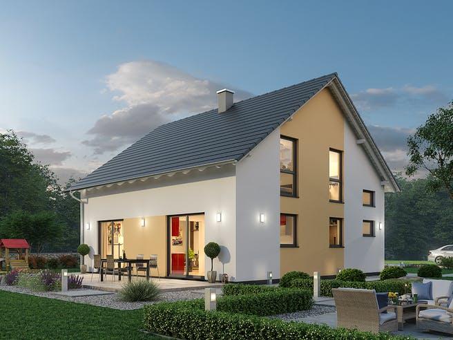 Einfamilienhaus EFH 148 von SR System Außenansicht 1