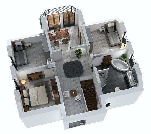 SR System - Einfamilienhaus EFH 151 Floorplan 4