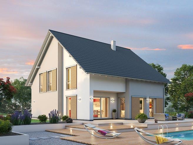 Einfamilienhaus EFH 173 von SR System Außenansicht 1