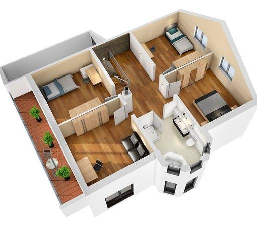 SR System - Einfamilienhaus EFH 190 Floorplan 4
