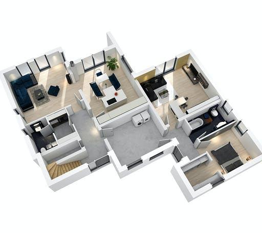 SR System - Mehrgenerationenhaus MGH 232 Floorplan 3