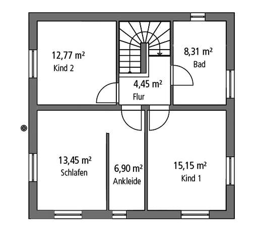 SR System - Stadtvilla STV 122 Floorplan 2