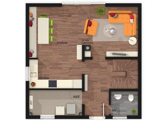 Town & Country - Stadthaus 100 Floorplan 1