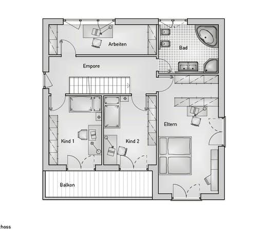 Stadthaus 22.36 EFH Floorplan 2