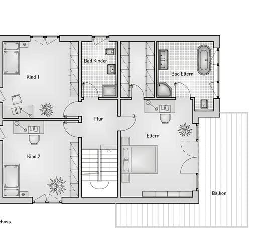 Stadthaus 22.69 EFH Floorplan 2