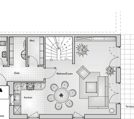 Stadthaus 52.12 DHH Floorplan 1