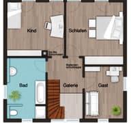 Stadtvilla 145 Grundriss