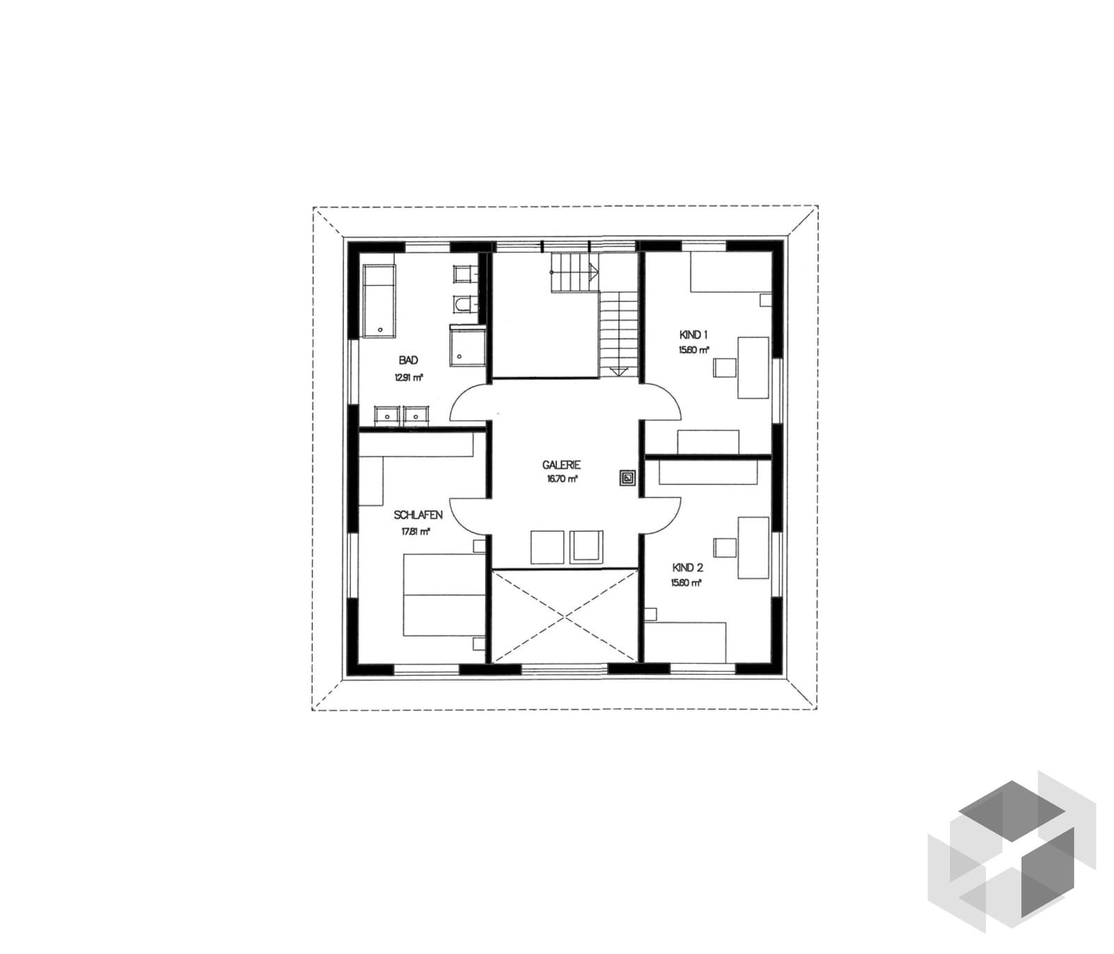 stadtvilla von haacke haus modern individuell. Black Bedroom Furniture Sets. Home Design Ideas