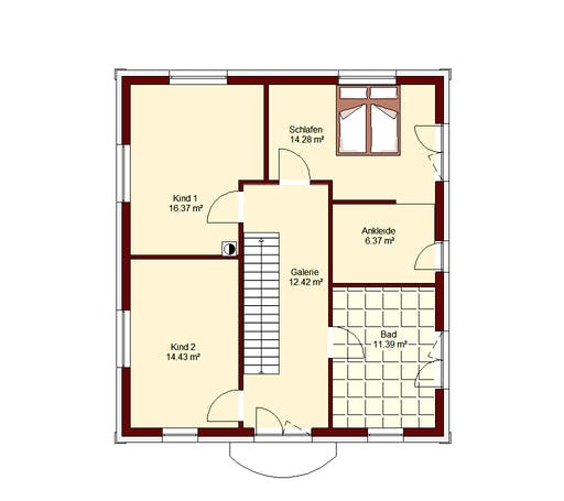 Stadtvilla Berlin Floorplan 2