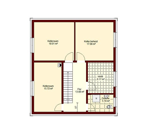 Stadtvilla Berlin Floorplan 3