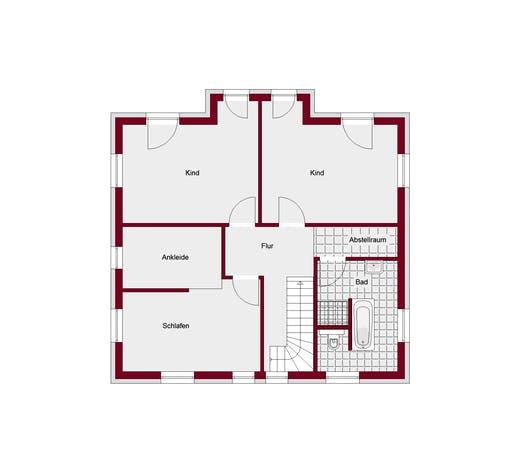 Stadtvilla Mailand Floorplan 2