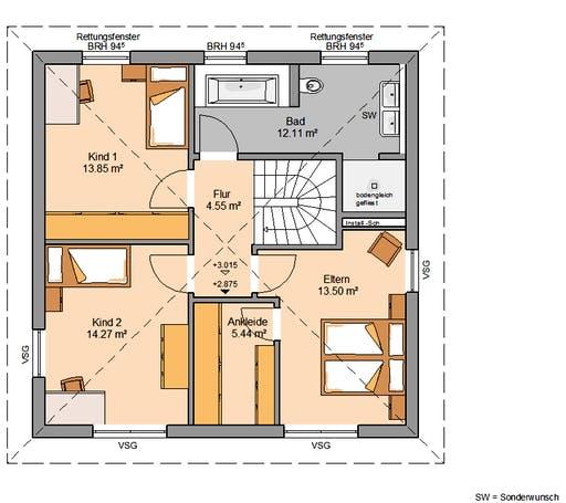 Stadtvilla Pura Floorplan 2