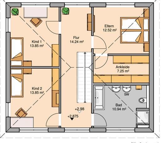 Stadtvilla Signus Floorplan 2