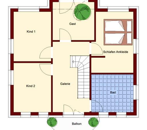 Stadtvilla Strausberg Floorplan 2