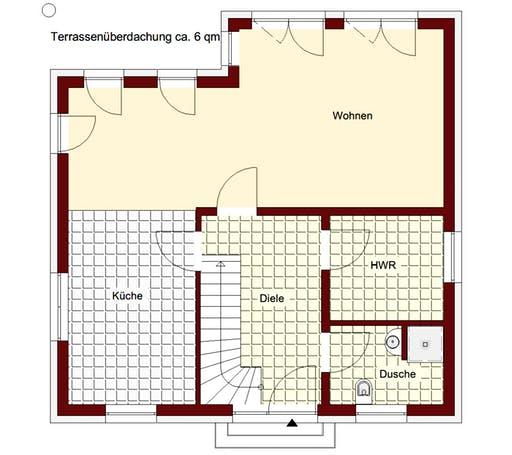Stadtvilla Verona Floorplan 1