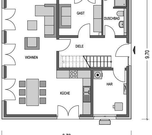 Villa SV140 Floorplan 1
