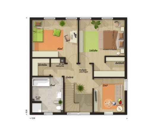 Stadtvilla 145 Trend Floorplan 2