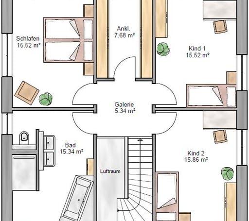 Stadtvilla 155 Floorplan 2