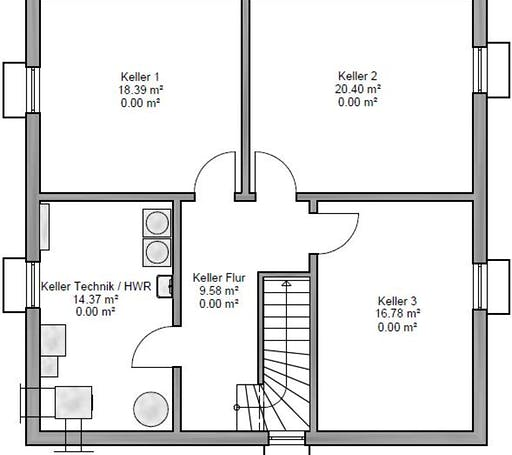 Stadtvilla 155 Floorplan 3