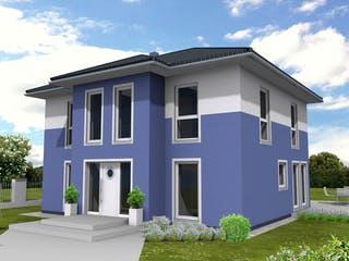 Stadtvilla 159 von Suckfüll - Unser Energiesparhaus Außenansicht 1