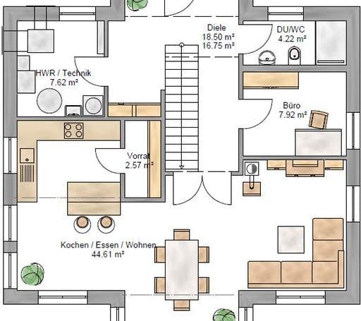 Stadtvilla 159 Floorplan 1