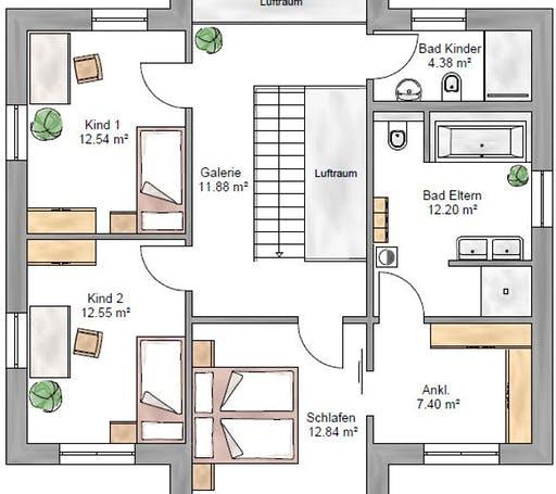 Stadtvilla 159 Floorplan 2